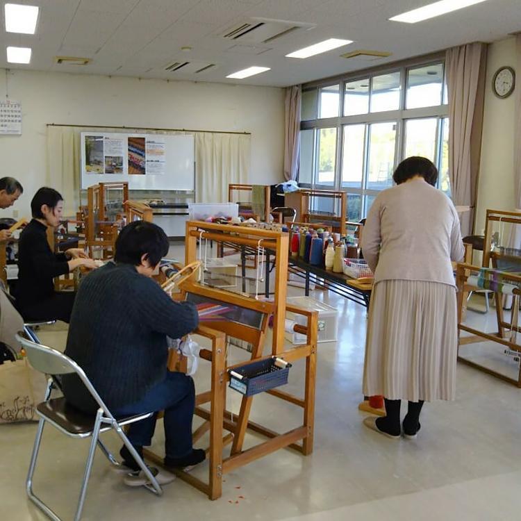 手織り工房わくわく本舗・裂き織り体験学習