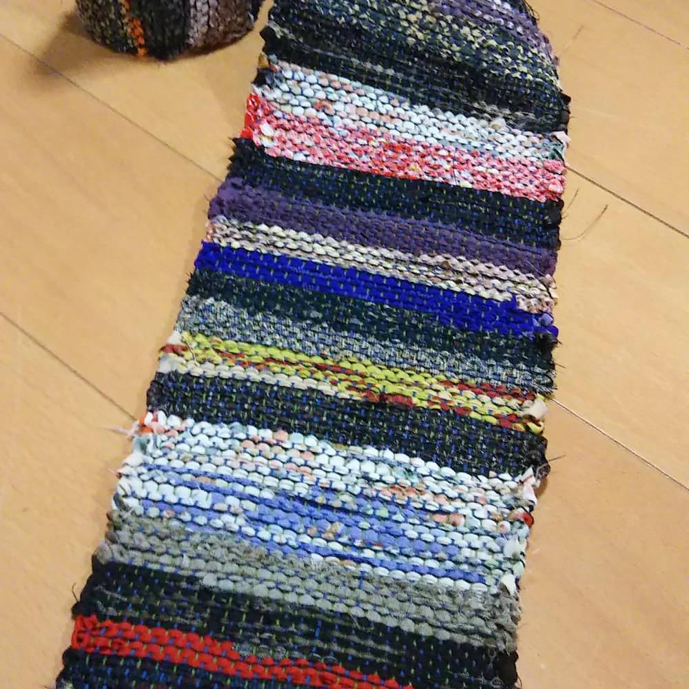 裂き織り作品