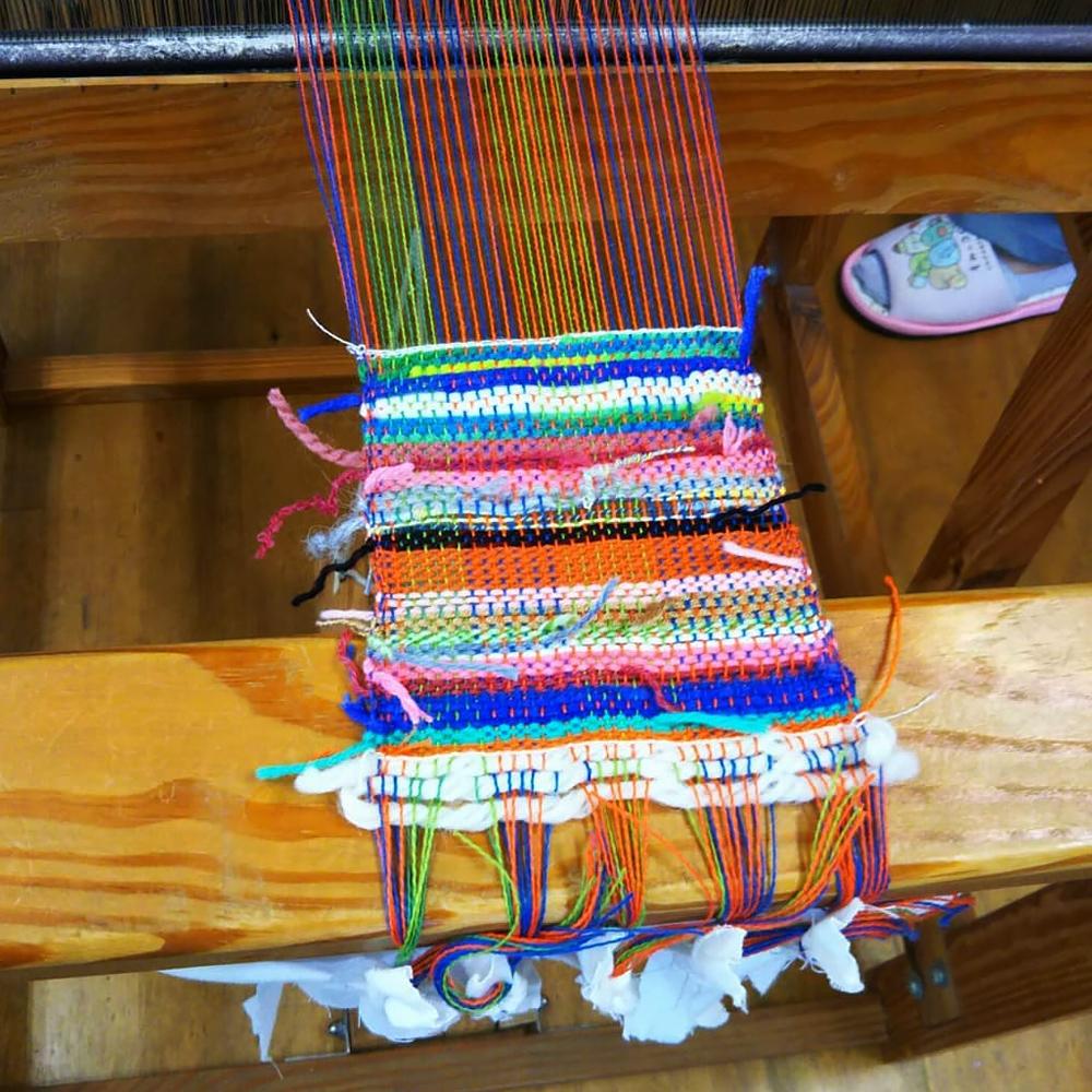 手織り工房わくわく本舗・お客様の作品