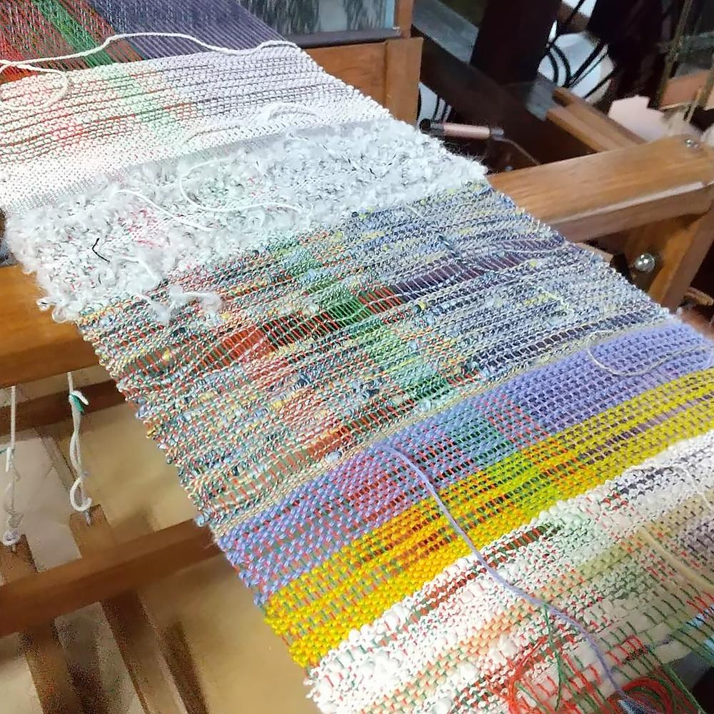 お客さまの織物作品
